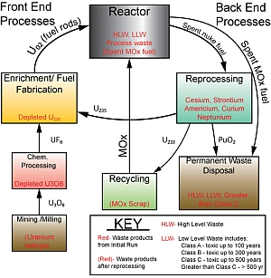 Nuclear Fuel Cycle Analyses